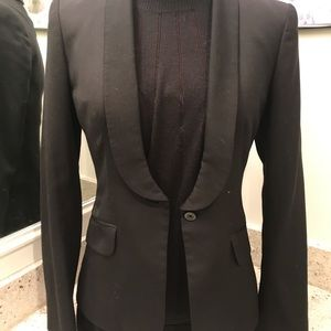 Express stretch, Black blazer